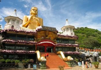 ダンブッラ Golden Buddha